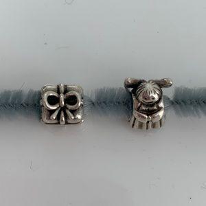Set of 2 Pandora beads